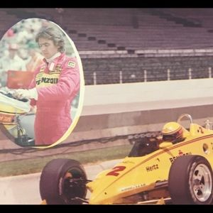 8X10 Photo 4 time INDY 500 winner Rick Mears
